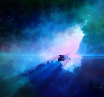 photonic spaceship